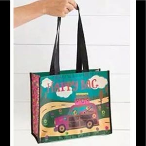 Woodie Happy Bag Large Recycled Reusable Gift Bag